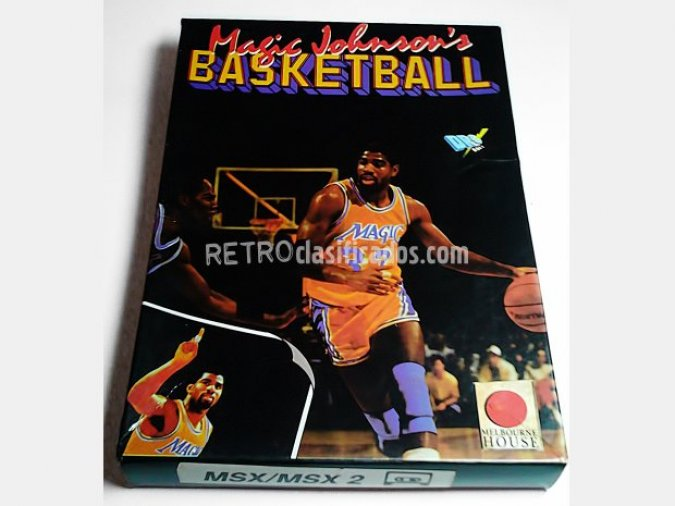 Magic Johnson's Basketball MSX Ed. LUJO