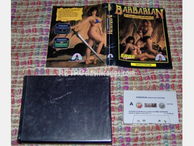 BARBARIAN  Version De Estuche  ERBE