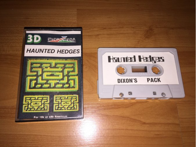 Haunted Hedges juego original Spectrum