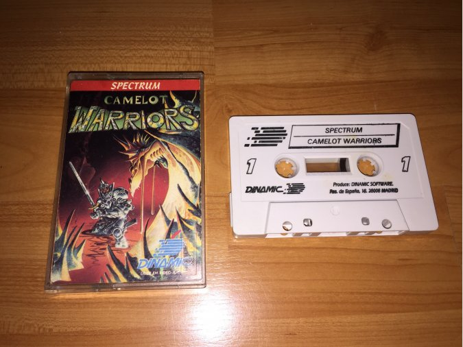 Camelot Warriors juego original Spectrum