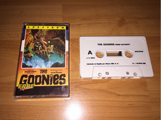 The Goonies juego original Spectrum