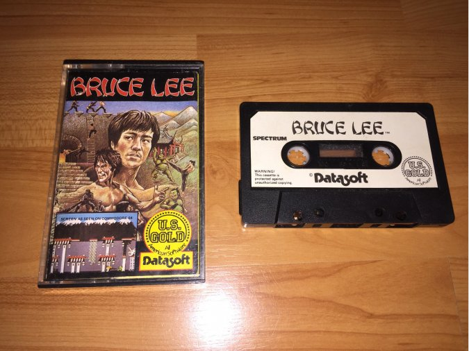 Bruce Lee juego original Spectrum