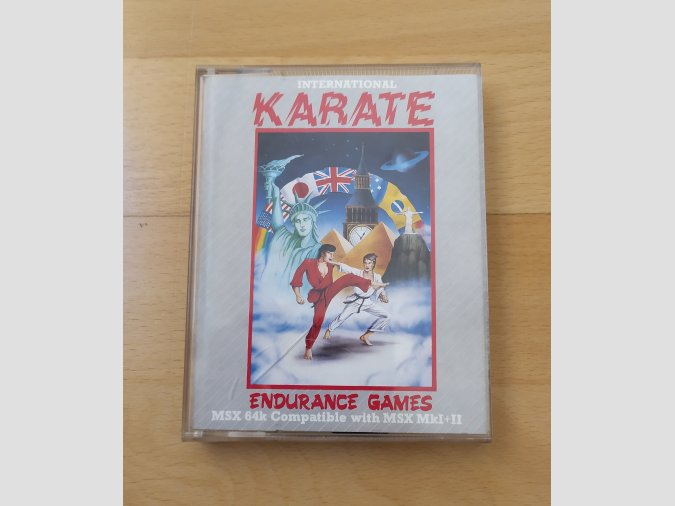 Juego MSX International Karate Endurance
