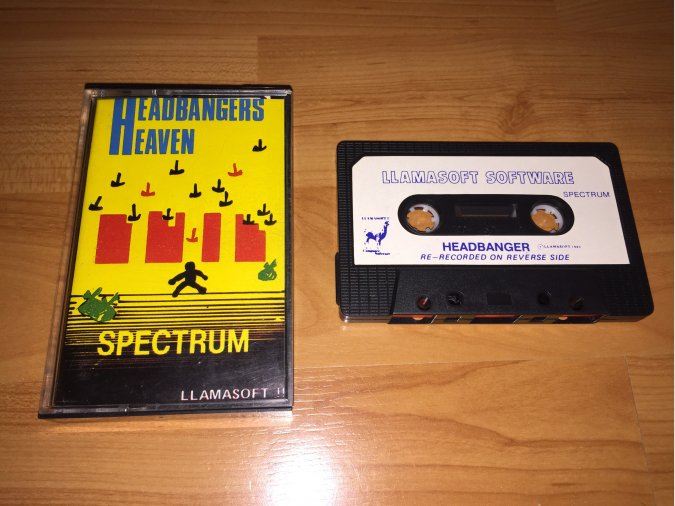 Headbangers Heaven juego original Spectrum