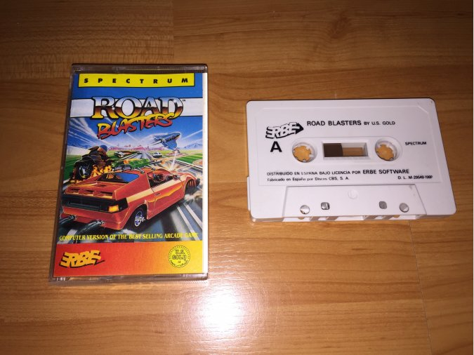 Road Blasters juego original Spectrum