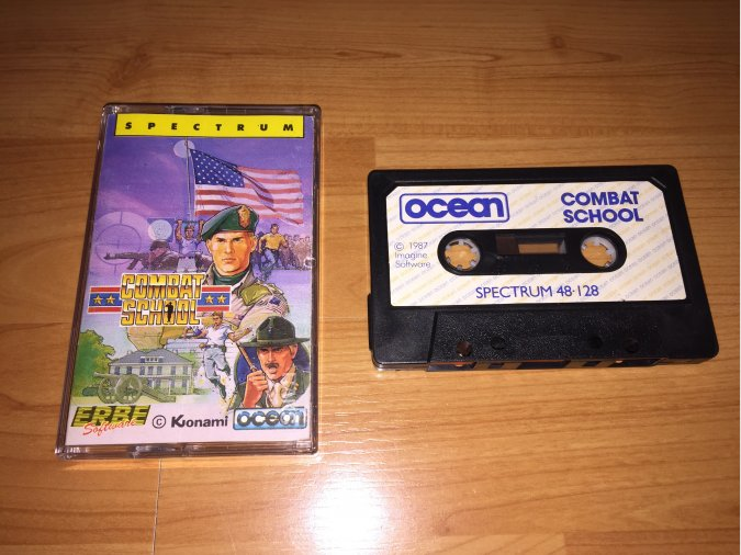 Combat School juego original Spectrum