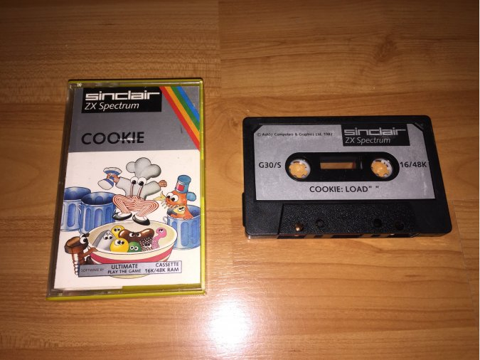 Cookie juego original Spectrum