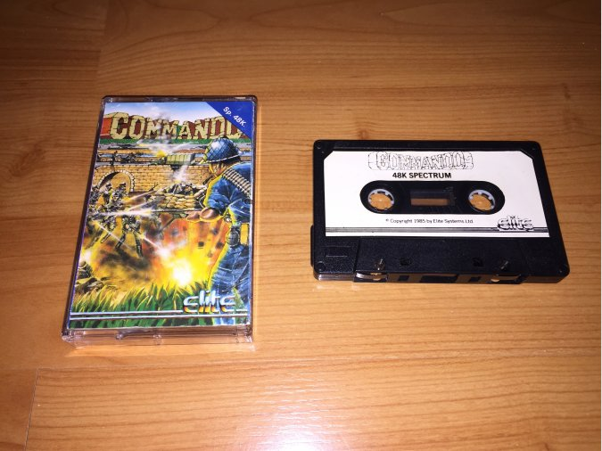 Commando juego original Spectrum