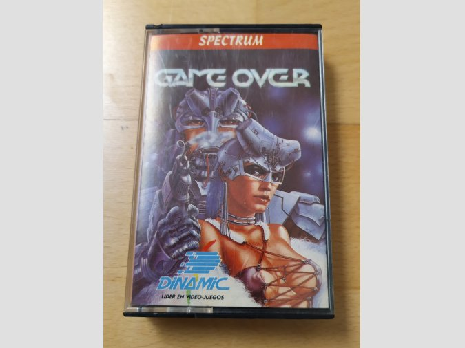 Juego Spectrum Game Over Dinamic
