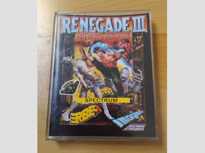 Juego Spectrum Renegade III Erbe Imagine