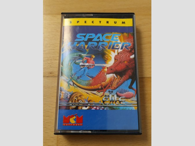 Juego Spectrum Space Harrier MCM Elite