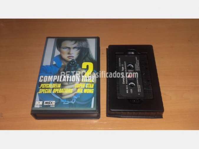 MSX - COMPILATION TAPE 2