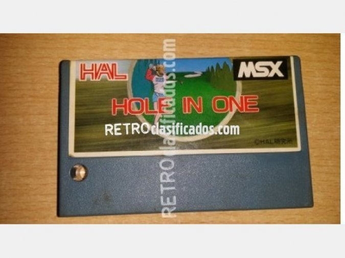 Hole in One suelto MSX1 Hal Laboratory