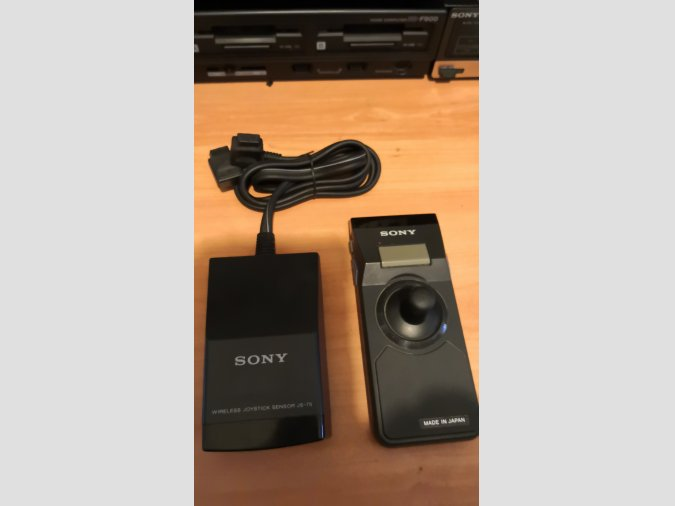 MSX SONY WIRELESS JS-75 + JOYSTICK