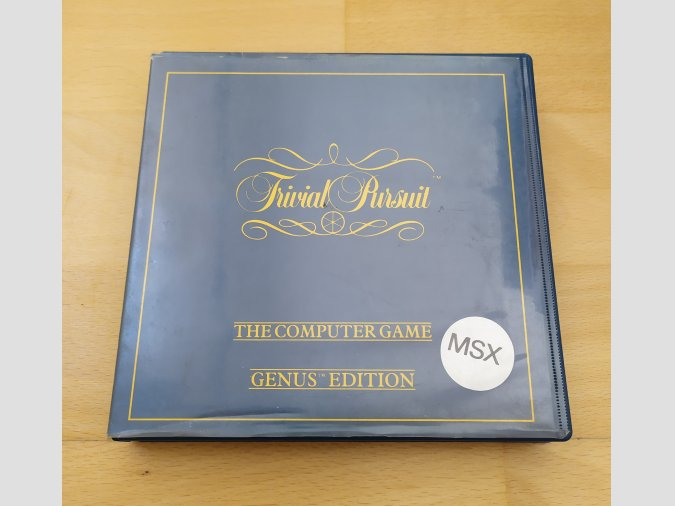 Juego MSX Trivial Pursuit Erbe Software
