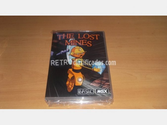 MSX - THE LOST MINES (REPROFACTORY)