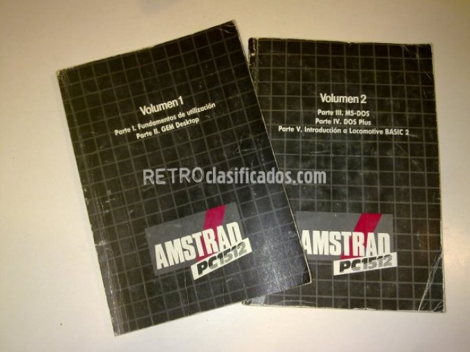 Manuales Amstrad 1512
