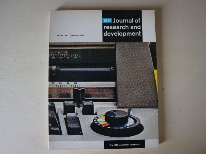 IBM Journal Vol. 12 nº1, January 1968