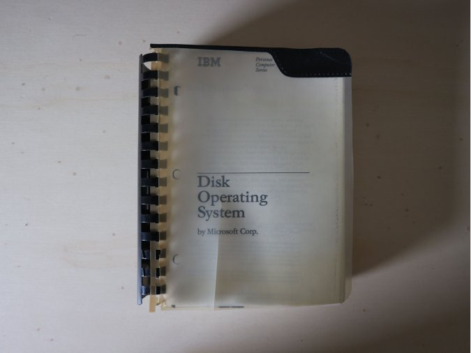 IBM Disk Operating System by Microsoft Corp.
