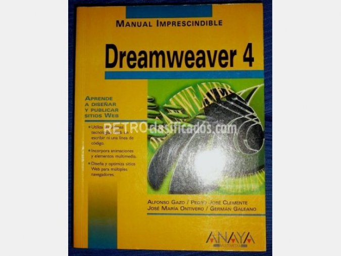 Dreamweaver 4. Manual imprescindible