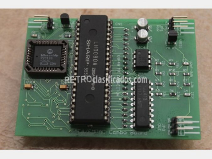 MSX - PLACA FM INTERNO + REGISTRO F4