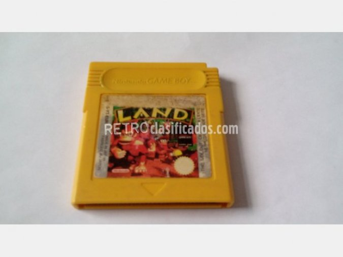 GAMEBOY DONKEY KONG LAND GAME BOY