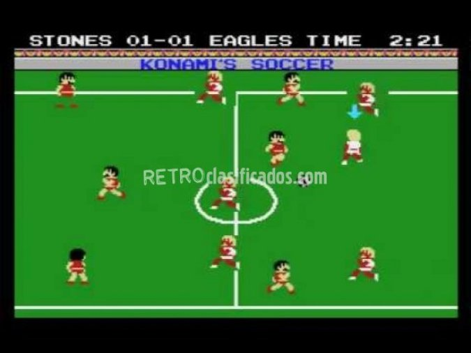 Manual Konami's Soccer (football)