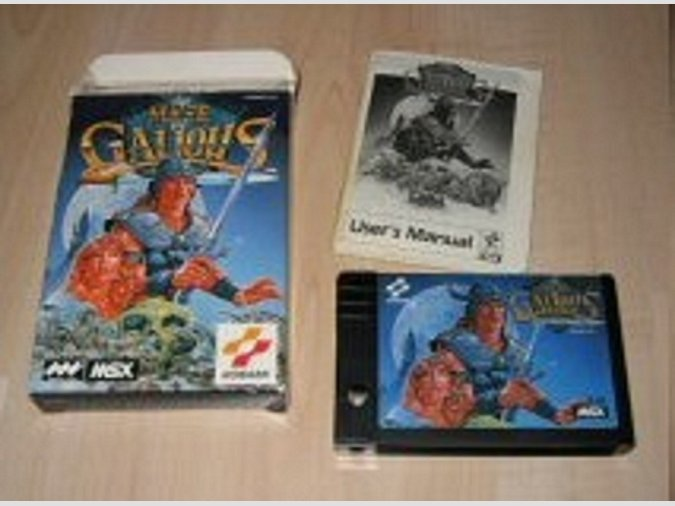 BUSCO The Maze OF Galious MSX Versión MINI BOX
