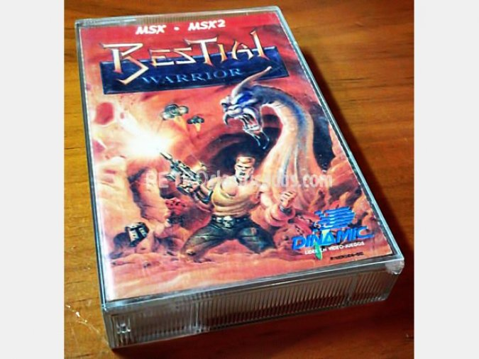 Bestial Warriors - MSX - MSX2