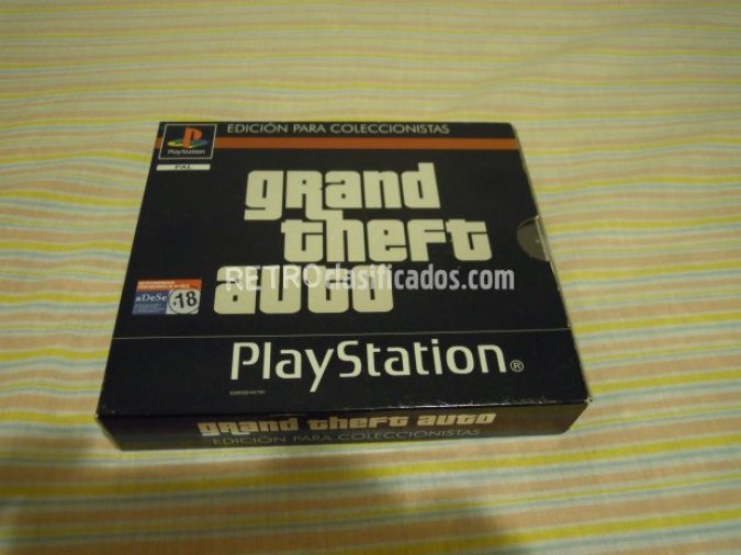 PS1 GRAND THEFT AUTO ED.COLECC. NUEVO