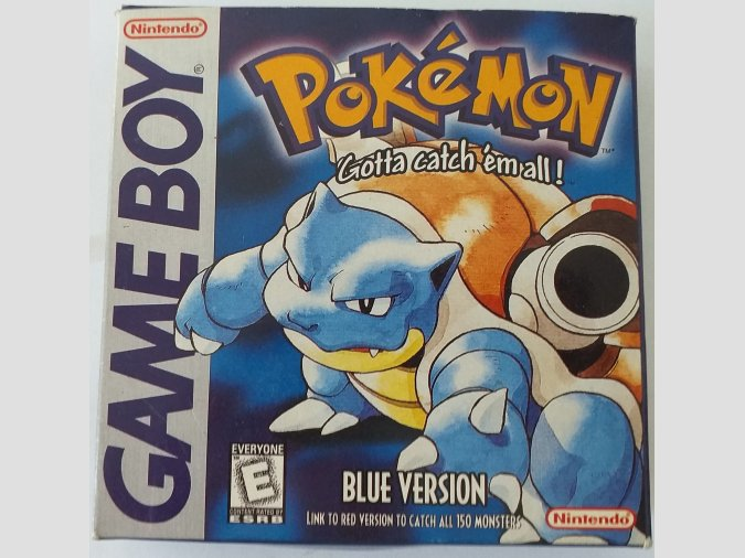 CARTUCHO PARA GAME BOY COLOR - POKÉMON AZUL