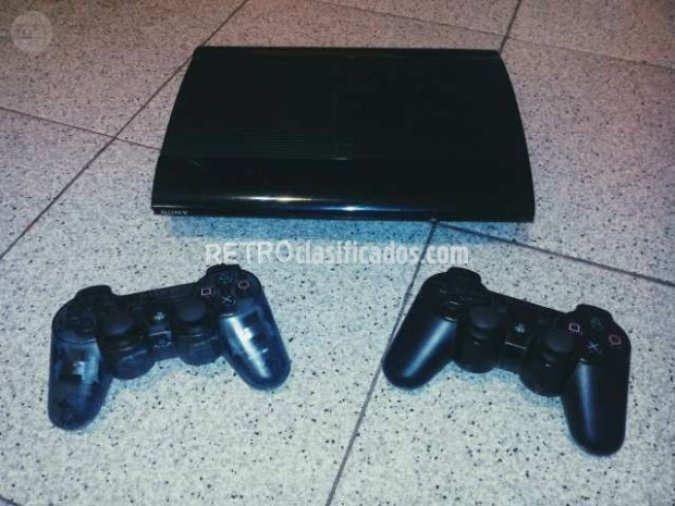 PLAY STATION 3SLIM 500GB + 2 MANDOS SONY
