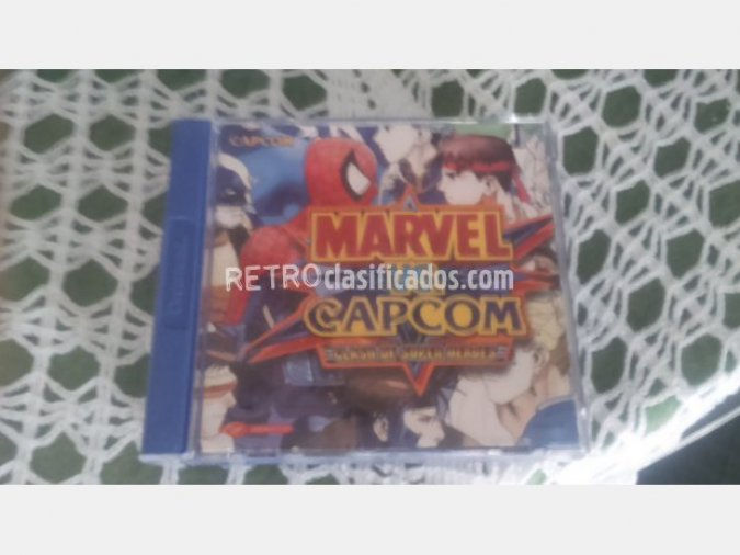 MARVEL VS CAPCOM VENDIDO