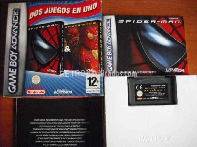 SPIDERMAN 1&2 GBA