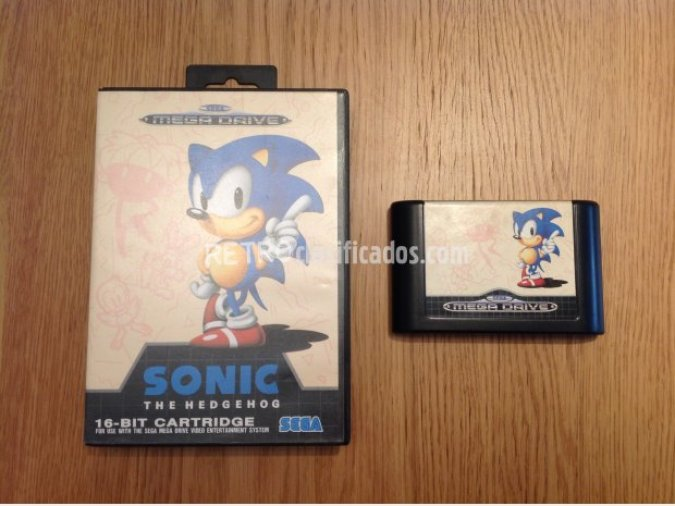 SONIC THE HEDGEHOG MEGADRIVE PAL