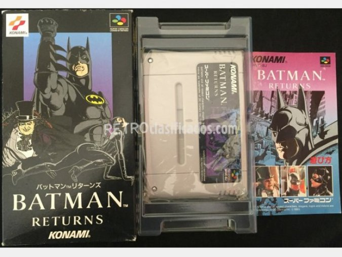Batman Returns - Super Famicom