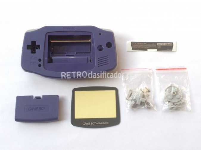 Carcasa para Game Boy Advance Azul