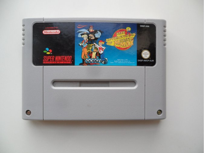 THE ADVENTURES OF MIGHTY MAX SNES