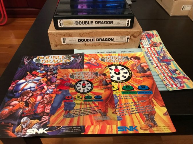 Double Dragon Neo Geo MVS Kit SNK