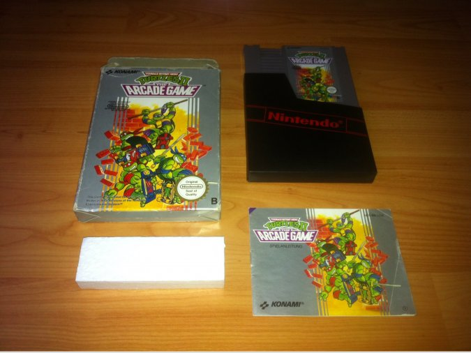 Teenage Mutant Ninja Turtles 2 juego original Nintendo NES
