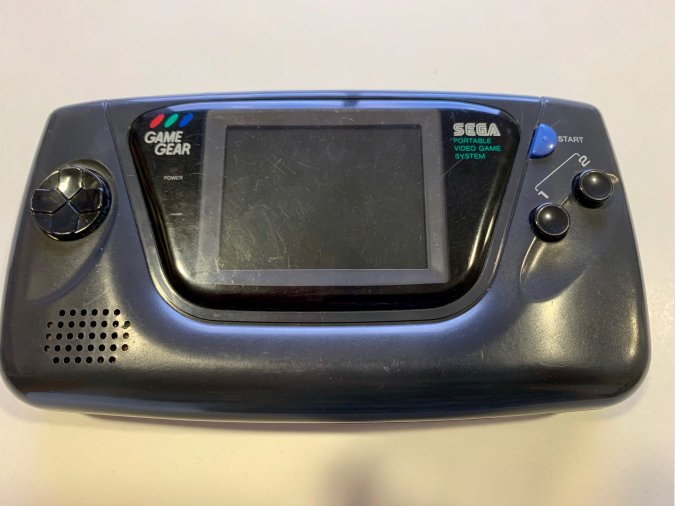 Sega Game Gear averiada