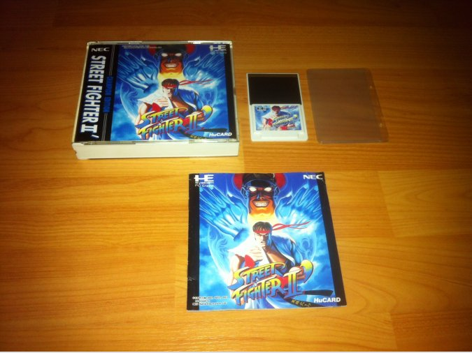 Street Fighter 2' Champion Edition PC-ENGINE