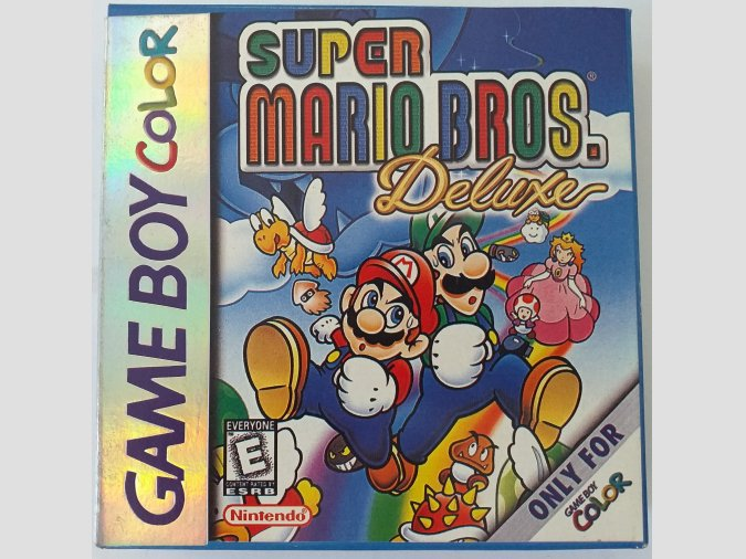 CARTUCHO PARA GAMEBOY COLOR - SUPER MARIO BROS DELUXE