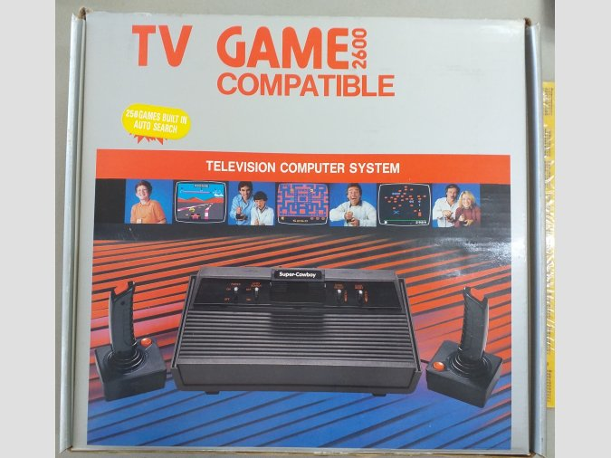 Consola para la TV con 256 juegos incorporados compatible At