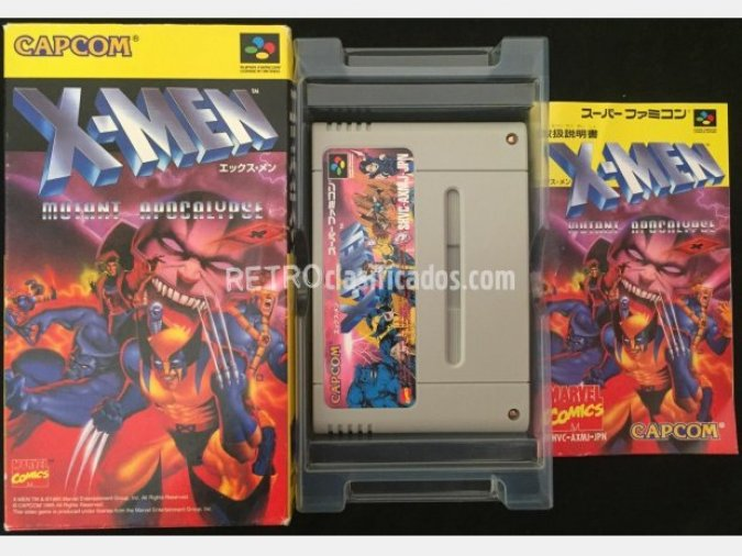 X-Men Mutant Apocalypse - Super Famicom