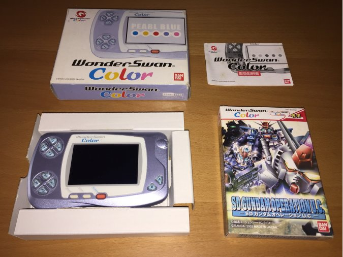 Wonderswan Color consola portatil original
