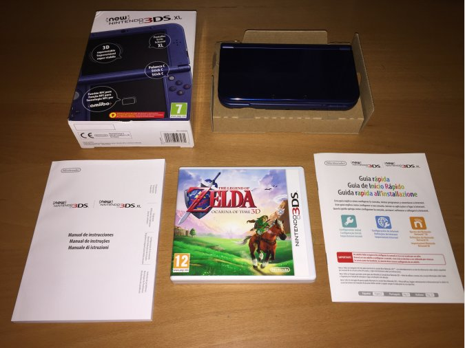 New Nintendo 3DS XL consola portatil original
