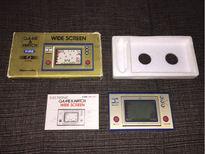 Game & Watch original Nintendo FIRE