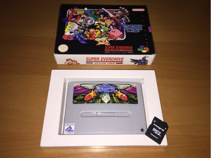 Everdrive Super Nintendo SD2SNES