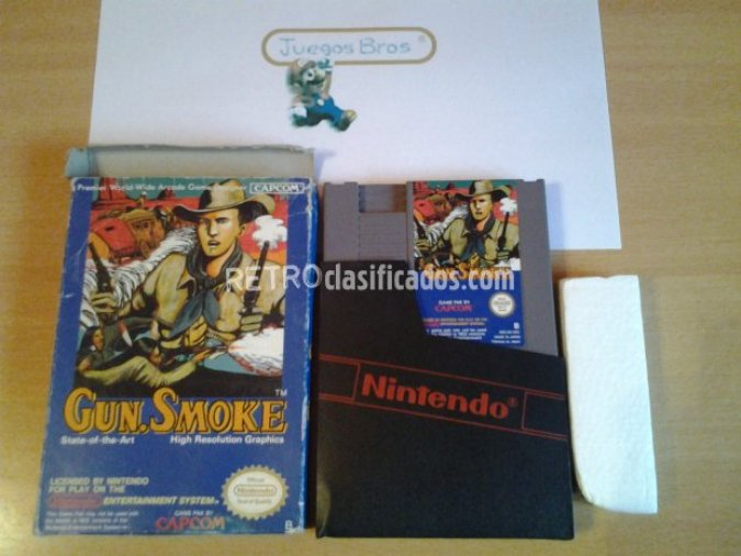 Gun Smoke Pal B Cartucho y Funda